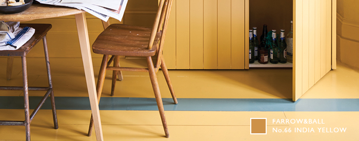 Farrow&Ball No.66 INDIA YELLOW